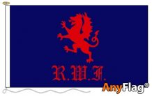 -ROYAL WELCH FUSILIERS STYLE A  ANYFLAG RANGE - VARIOUS SIZES